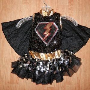 NWOT Weissman Child Small Super Hero Dress w/ Cape